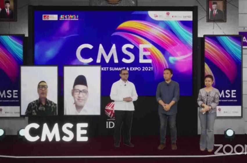 Penyelenggaraan CMSE 2021, Tiga Juta Investor Saham Terlampaui