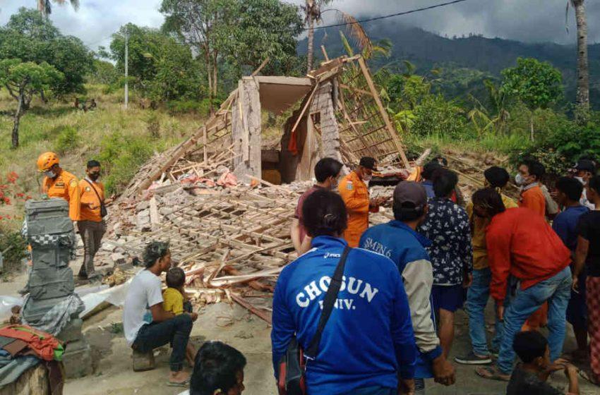 Ini Identitas Tiga Korban Gempa di Trunyan dan Karangasem