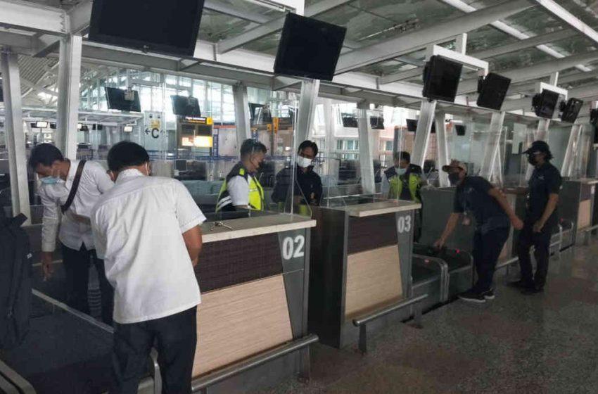 Sambut Penerbangan Internasional, Ratusan Timbangan di Bandara Ngurah Rai Ditera Ulang