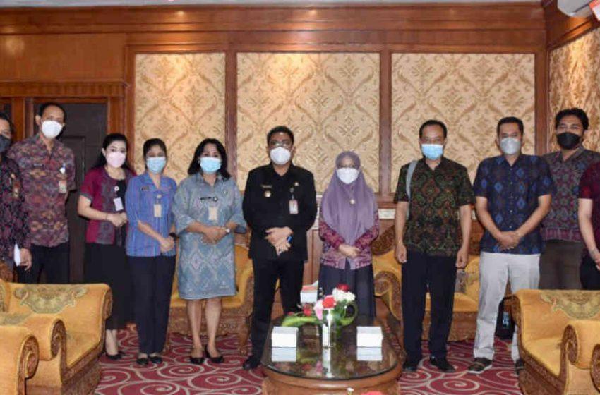 Wawali Dukung Riset Ideathon Bali Kembali untuk Global Platform for Disaster Risk Reduction