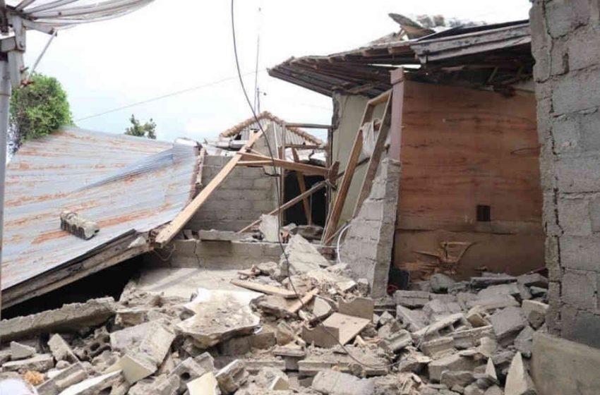 Selain Timbulkan Korban Jiwa, Ratusan Rumah di Karangasem Rusak Akibat Gempa