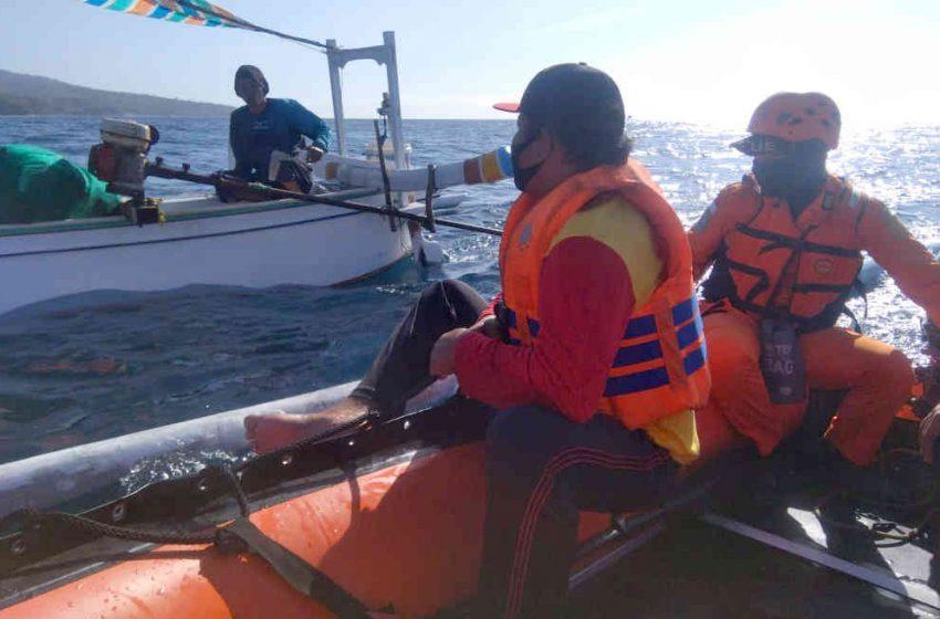 Dihentikan, Pencarian Nelayan Hilang di Bunutan Karangasem